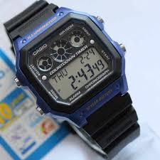 Jam Tangan Casio Karet tangan casio digital original ae 1300wh kotak tali karet