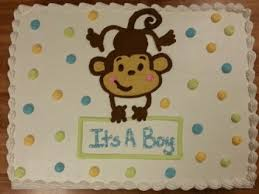monkey baby shower cake best monkey baby shower sheet cake cake decor food photos