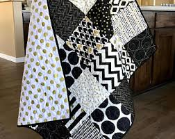 black and white baby bedding black and white quilt black