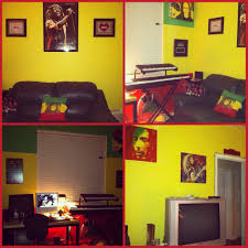 Music Themed Home Decor by My Rasta Bob Marley Themed Room Room Painting Ideas Pinterest