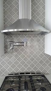 Arabesque Grey Kitchen Backsplash By Csflooringcom Madison - Gray backsplash