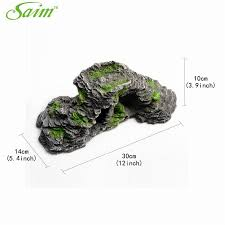 fish tank aquarium cave shape decoration stones artificial cave