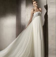 high waist wedding dress 2013 empire waist wedding gown with applique and beadings
