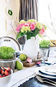 Home Decor Dining Table Tidbits U0026twine Spring Dining Room Tour 2016 Tidbits U0026twine