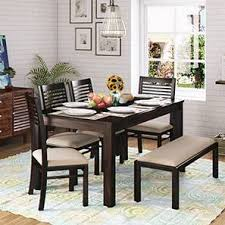 kitchen table sets with bench dining table sets buy dining tables sets online in india urban ladder