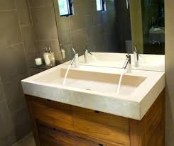 48 Vanity With Top Sinks Trough Sink Vanity Double 60 With Top Vanity Trough Sink