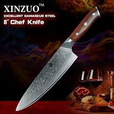 high carbon kitchen knives shop xinzuo 8 inch chef knives high carbon vg10 japanese