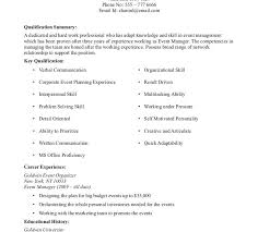 No Experience Resume Template No Experience Resume Template No Work Experience Executive