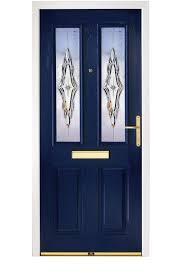 Composite Exterior Doors Exterior Design Enchanting Blue Composite Door With Unique