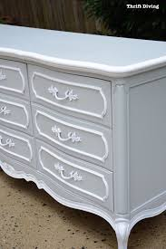 Gray Furniture Paint What U0027s The Best Paint For Furniture Thrift Diving Blog