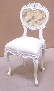 chateau white bedroom chair buy from the french furniture