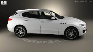 maserati levante white 360 view of maserati levante 2017 3d model hum3d store
