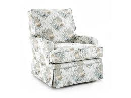 swivel glide chair capris furniture sg120 sg120 helena transitional swivel glider