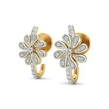 diamond earrings online jacey flower diamond earrings shop flower shape diamond earrings