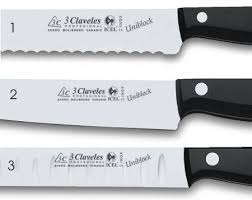 different kitchen knives 3 claveles knives characteristic and elaboration