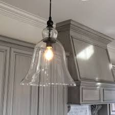 cool glass pendant lights jug home decor ideas with clear for