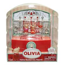 amazon com olivia fancy restaurant play set toys u0026 games