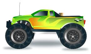 toy monster trucks racing clipart monster truck