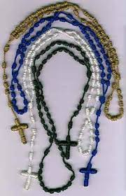 rosary twine rosary workshop service knotted cord rosaries and chaplets