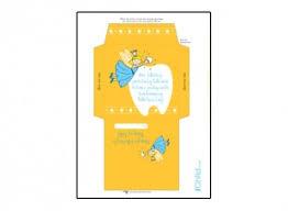 envelope for tooth fairy boy ichild