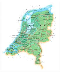 Map Netherlands Maps Origin And Settlement Dutch Immigration