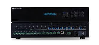 Audio Visual Rack 4k Uhd 8x8 Hdmi To Hdbaset Matrix Switcher With Poe