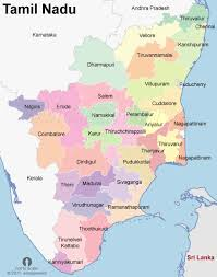 tamil nadu map tamilnadu map india map of tamilnadu state india