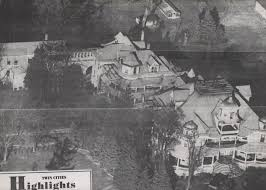 this is the shiloh mansion it was built 110 years ago in my