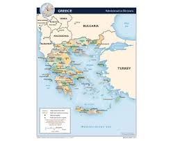 Greece On A Map by Maps Of Greece Detailed Map Of Greece In English Tourist Map