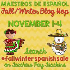maestros de español fall winter hop island