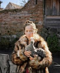 pretee models delphine schacher petite robe de fete examines a time between