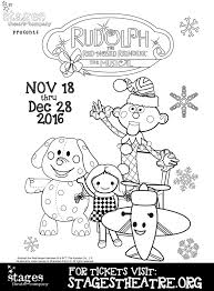 rudolph red nosed reindeer musical stages theatre company