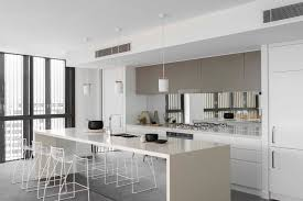 Splashback Ideas For Kitchens Beautiful White Kitchen Mirror Splashback Intended Decorating