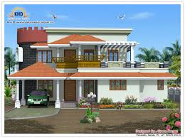 elevation kerala style houses house architecture my house