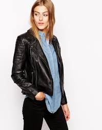 ladies bike jacket latest beautiful leather jacket for girls in winter 2016