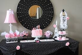 Black And White Candy Buffet Ideas by Pink Silver Black White Candy Buffet Themed Birthday Party