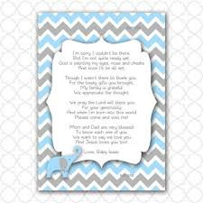 Thank You Cards For Baby Shower Gifts - thank you note for baby shower guests image bathroom 2017