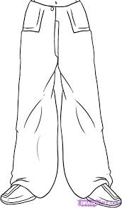 draw pants step by step drawing sheets added by dawn october
