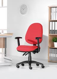Vantage  Operator Chair  Lever Fabric No Arms Charcoal Www - Vantage furniture