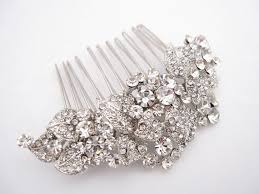 bridal hair combs wedding hair accessories rhinestone bridal comb bridal hair