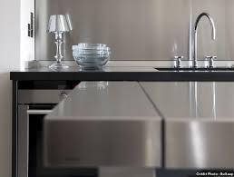 plan de travail en inox pour cuisine plan de travail pour cuisine matériaux cuisine maison créative