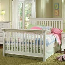 Palisades Convertible Crib by Creations Summer U0027s Evening Convertible Crib In Rubbed White