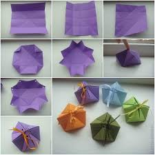 Paper Origami Box - how to diy paper origami gift box www fabartdiy
