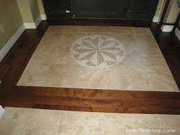 porcelain wood medallion entry epic flooring