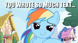 Animated Gif Meme - image 46183 animated gif lol didnt read meme rainbow dash gif