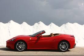 Ferrari California 2012 - car picker red ferrari california