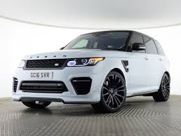 land rover supercharged white used 4x4 land rover range rover sport for sale saxton 4x4