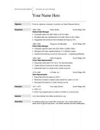 Blank Resume Examples by Free Resume Templates 10 Printable Template Blank Job And With