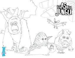 Coloriages Danimaux De La Jungle S As La Jung Coloriage Danimaux De
