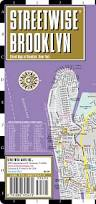 New York Street Map by Streetwise Brooklyn Map Laminated City Center Street Map Of